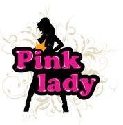 pink lady - stock illustration