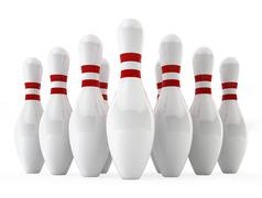 Bowling pins Piirros