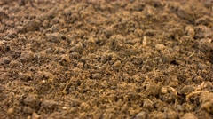 Soil background 4k Stock Footage