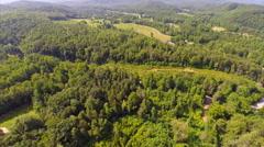 Smokey Mountains aerial video footage Stock Footage