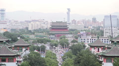 Jingshan park at daytime HD. Stock Footage