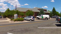 Prescott Arizona Police Department Wide Stock Footage