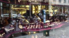 Expensive jewellery - stock footage