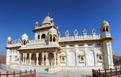 Jaswant thada mausoleum in india - panorama Stock Photos