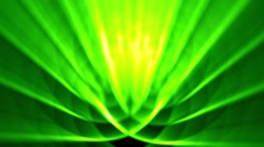 Sedate abstract looping background rays elegant shimmering green alt Stock Footage