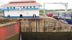 Panama Canal Stock Footage