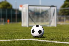 soccer facility - stock photo
