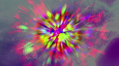 Motley abstract cloud 4K Stock Footage