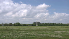 Louisiana Chalmette battlefield monument 4k Stock Footage