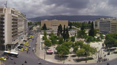 Constitution Square of Athens (Syntagma) , Greece,1920X1080 - Real Time Stock Footage