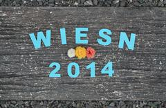 wiesn 2014 - stock photo