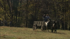 Carriage coming through Stock Footage