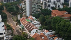 4k Ultra HD time lapse video of Cairnhill Road from day to night view, Singapore Stock Footage