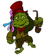 Water Goblin Stock Illustration