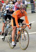 Euskaltel Euskadi spanish cyclist Alan Perez Lezaun Stock Photos