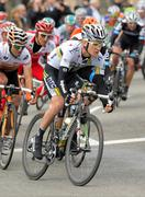 HTC-Highroad cyclist American Craig Lewis - stock photo