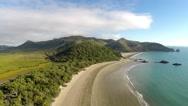 Australia Beach Aerial View Stock Footage