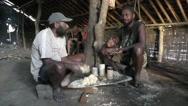 Kava ceremony, Vanuatu Stock Footage