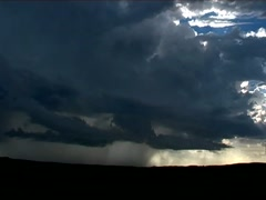 Approaching Storm Timelapse Stock Footage