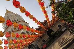 Stock Photo of lanterns at kek lok si