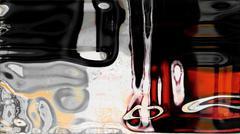Fluid Abstraction Stock Illustration