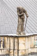 katholische hofkirche (catholic church of the royal court) dresden. germany - stock photo