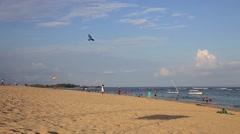 Nusa dua beach Stock Footage