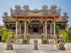 Khoo Kongsi Clanhouse Temple in Georgetown, Penang, Malaysia - stock photo