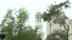 Washington D.C. - Bell tower zooms Stock Footage
