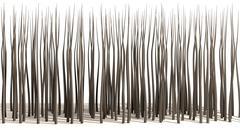 microscopic hair roots - stock illustration