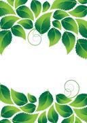 Stock Illustration of lush foliage