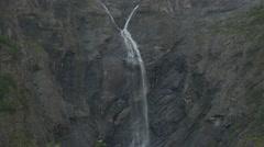 1080p, waterfall, mardalsfossen, norway Stock Footage