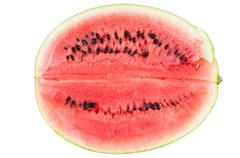 Watermelon isolated on white background Stock Photos
