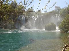 Bosnia Waterfalls Stock Photos