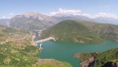 Albania 2014 aerials 011 Stock Footage