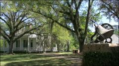 Louisiana Rosedown Plantation bell 4k Stock Footage