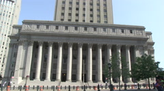 US Court of Appeals in New York City Stock Footage