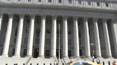 Stock Video Footage of US Court of Appeals in New York City