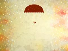 Background on a theme of autumn. EPS 10 - stock illustration