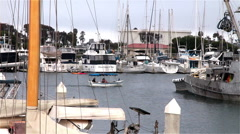 4442-Boats in Ventura Harbor-C6-HDP- Stock Footage