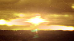 1999 Into Heaven Glowing Sky, 4K Stock Footage
