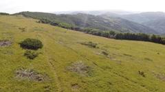 Montenegro 2014 aerials 003 Stock Footage