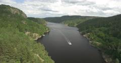 .4K, Norway, Sri Chinmoy Peace Bridge Stock Footage