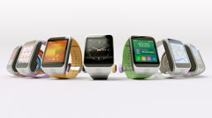 Stock Video Footage of Smart watch concept