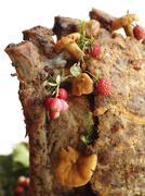 Meat stump Stock Photos