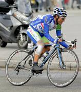 Andalucia Caja Granada's cyclist Adrian Palomares Stock Photos