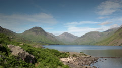 Wastwater lake district timelapse england Stock Footage