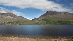 Loch scotland timelapse Stock Footage