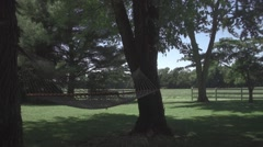 Farm Hammock 1 Stock Footage