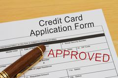 Credit card application form Piirros